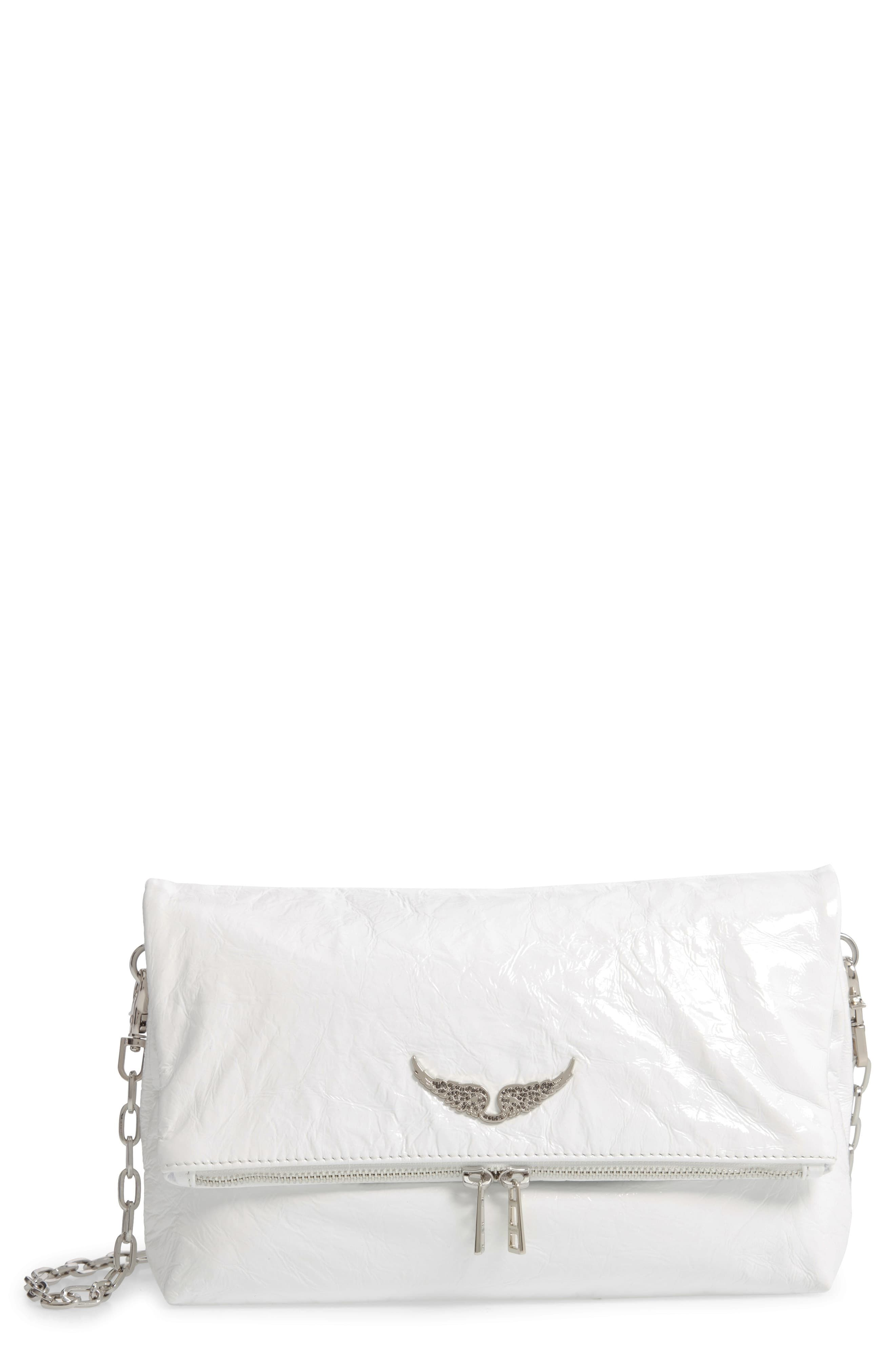 Zadig Voltaire Rocky Crinkle Leather Crossbody Bag Nordstrom Zadig And Voltaire Purses Crossbody Leather Crossbody