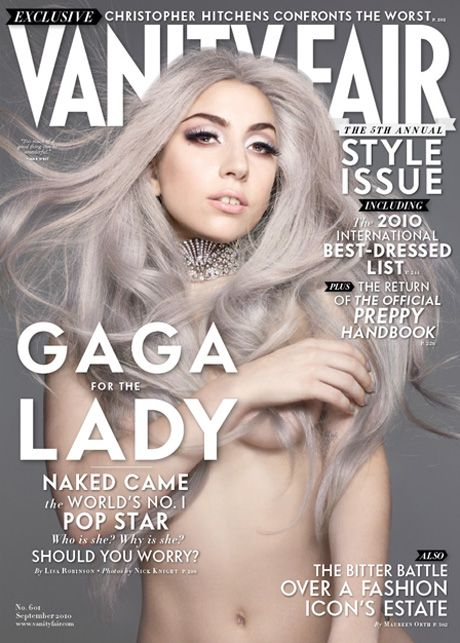 cover vanity Lady gaga fair