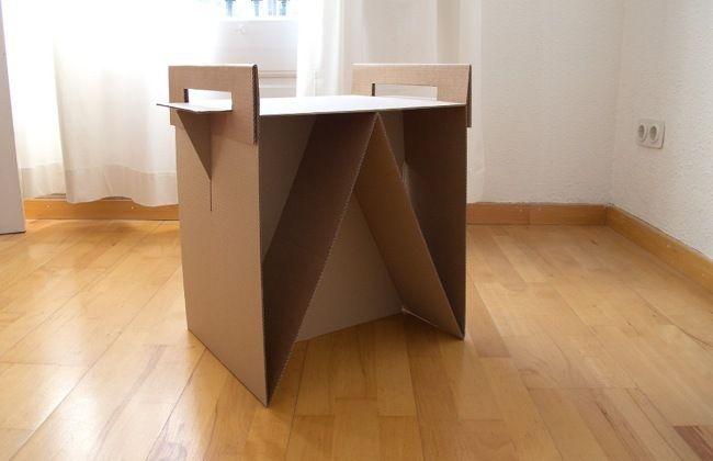 mesa de noche de carton - Buscar con Google
