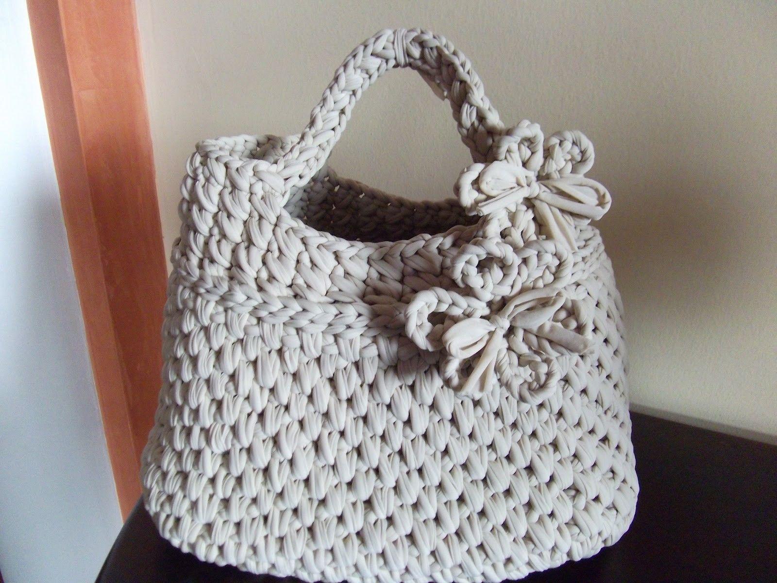 Le borse di lella borsa in fettuccia color panna tasne for Borse fettuccia tutorial