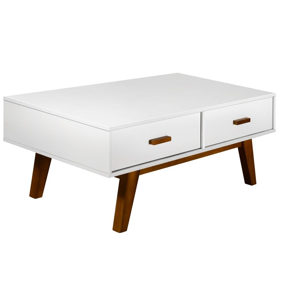 Side table with drawer  Scandinavian Coffee Table w  Drawer Side Cabinet  HOME ESSENTIALS