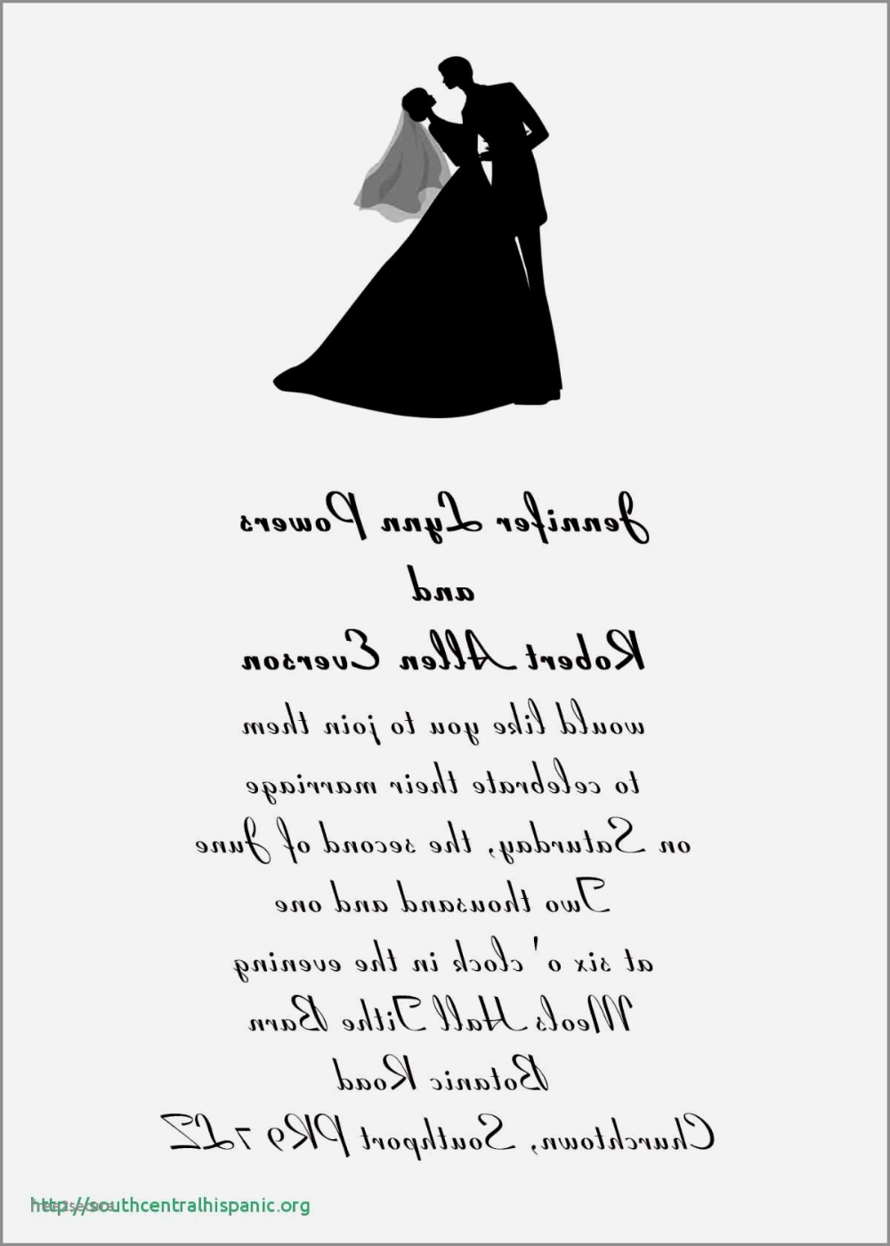 Black And White Formal Wedding Invitations Elegant Invitation For Wedding Inspirational Bride Groom Invitation