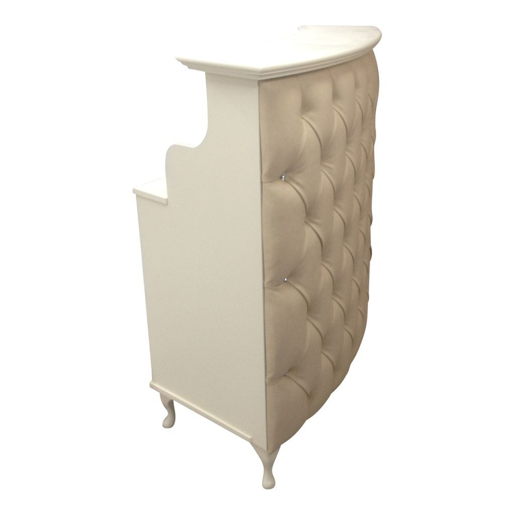 Small Curved Reception Desk - Beautiful Living Room Furniture Set ...