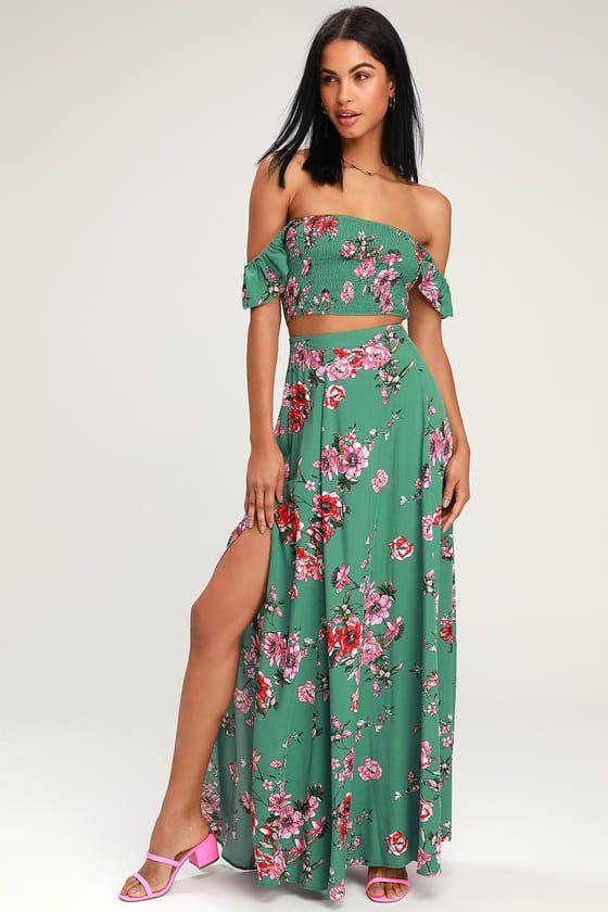 32++ Two piece maxi dress ideas in 2021