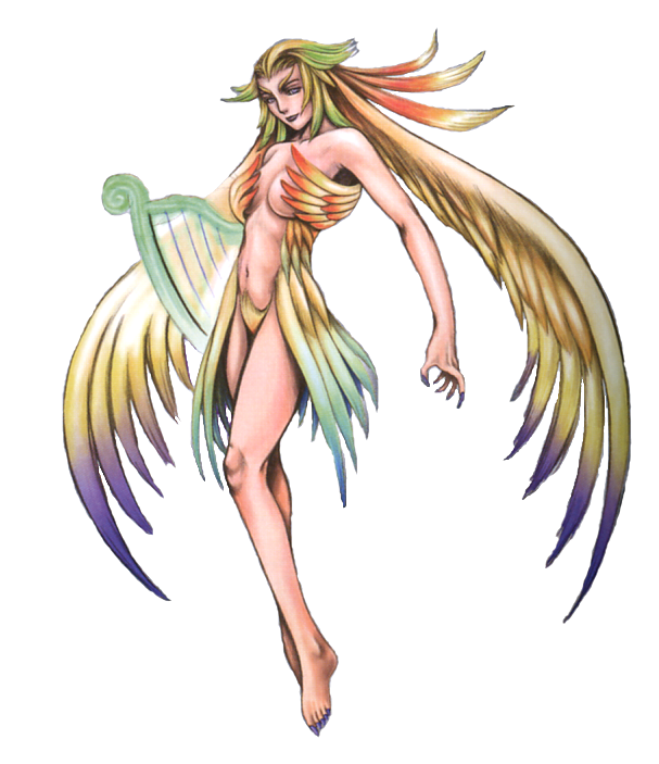 FF8 Siren - official final fantasy art from FF 25 Ultimania | Video