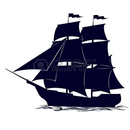 Voilier dessin vieux voilier illustration sur fond blanc voilier sculpture en 2019 - Voilier dessin ...