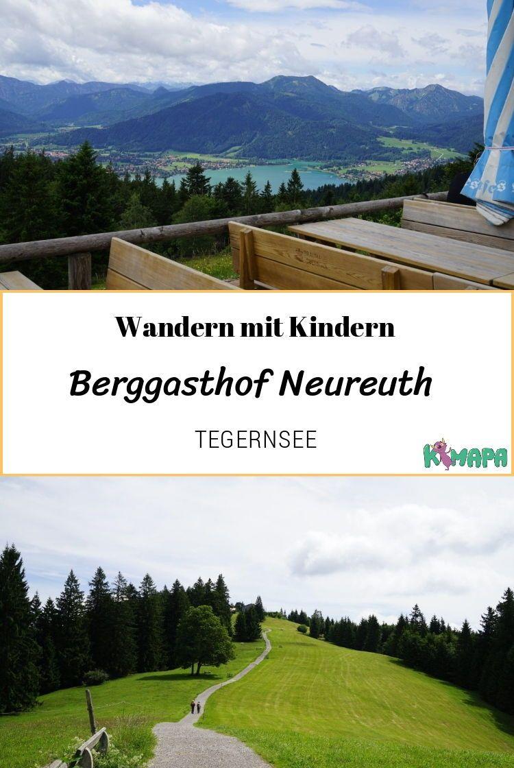 Wandern zum Berggasthof Neureuth am Tegernsee | KiMaPa on Tour – KiMaPa