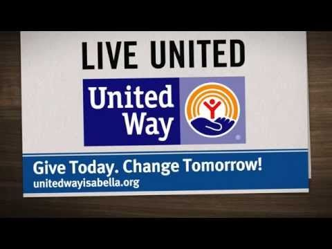 Great Things Happen When We Live United | United Way of Isabella County - YouTube