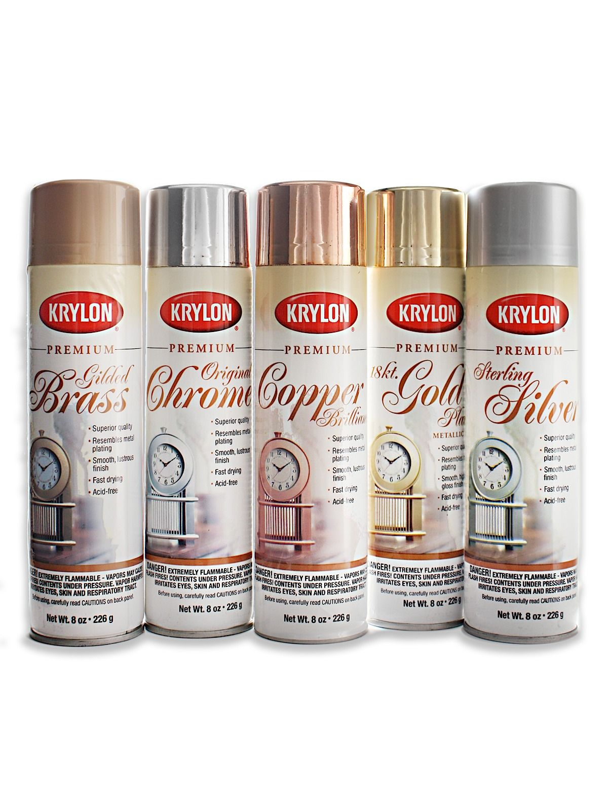 Krylon premium metallic spray paint metallic spray paint spray krylon premium metallic spray paint for a finishing touch that shimmers and shines begin geenschuldenfo Images