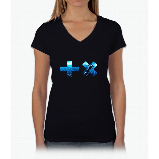 martin Womens V-Neck T-Shirt