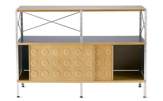 Eames® Storage Unit, 2x2 With Doors