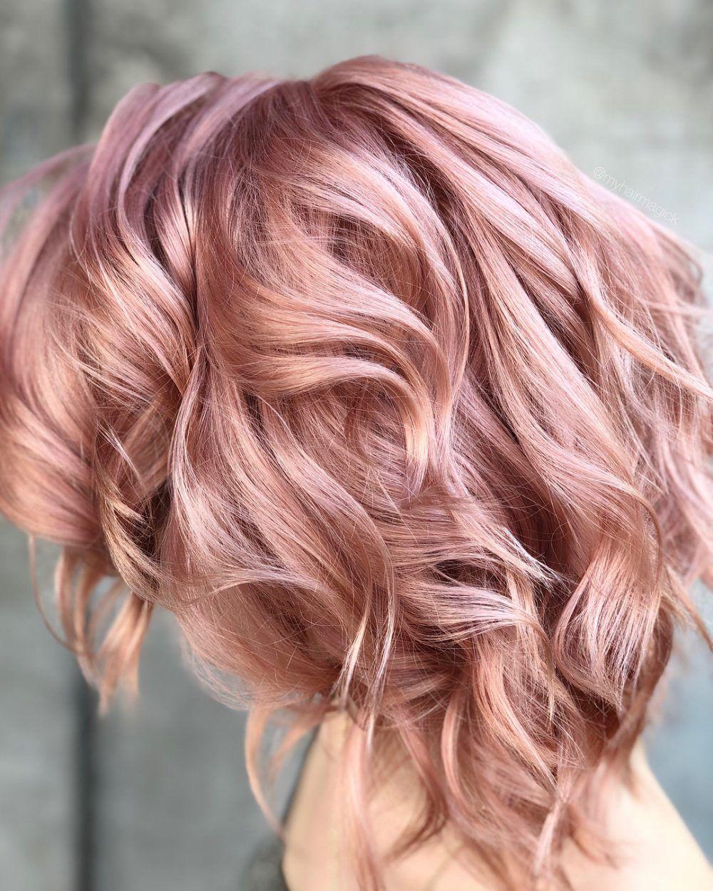71 Rose Gold Hair Ideen, die Ihr Leben verändern werden | Pinterest ...