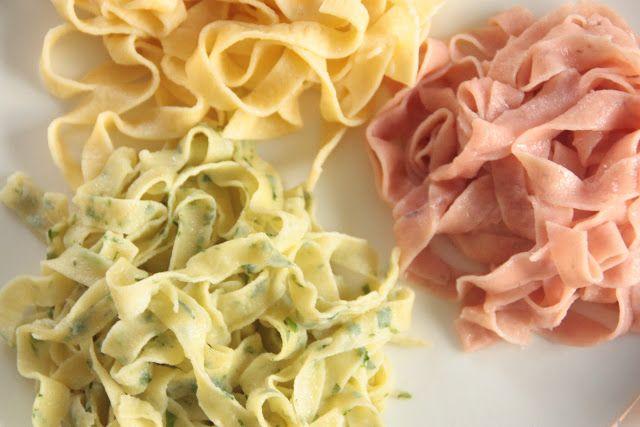 Homemade pasta Lemon, beetroot, pesto ..................Tarte Tatin.................
