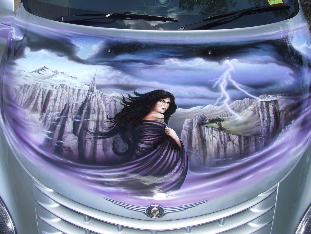 Airbrush Cars Gallery CARS/ AUTO MALLET CUSTOM