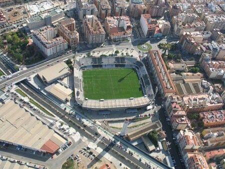 Castalia Stadium Castellon De La Plana Spain Estadio De Futbol