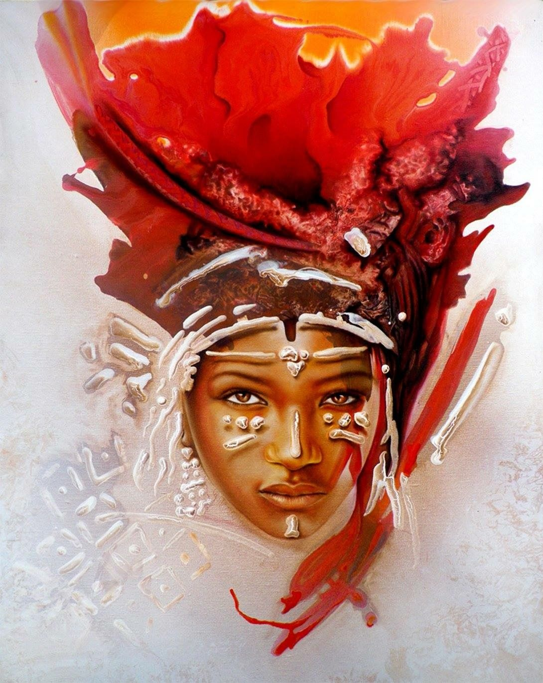 Pin Chanelle Sears Art African