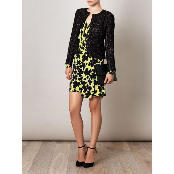 Diane Von Furstenberg Dora lily dress ($295) via Polyvore