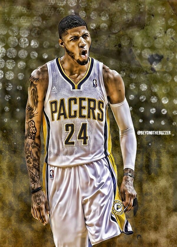 Paul George Indiana Pacers Paul George Nba Paul George Basketball Players