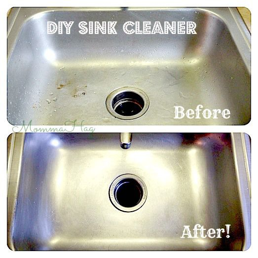 Sink Cleaner Wipe The Sink Down With Vinegar I Soaked