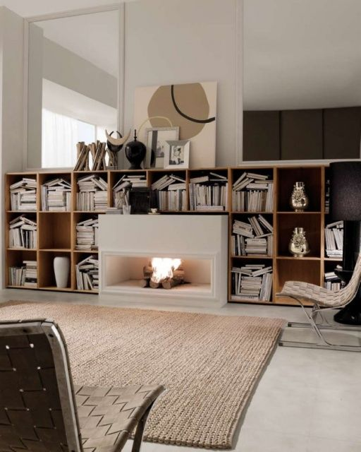 Modern Living Rooms Made by the Italian Company Mobileffe