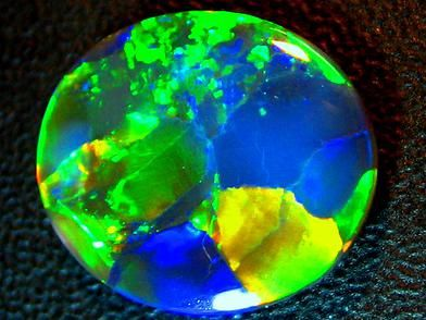 Lightning Ridge Solid Black Opal Harlequin Glo 080 Weight 2 47 Carats To See More Info Go To Www Black Opal Australia Black Opal Australian Black Opal