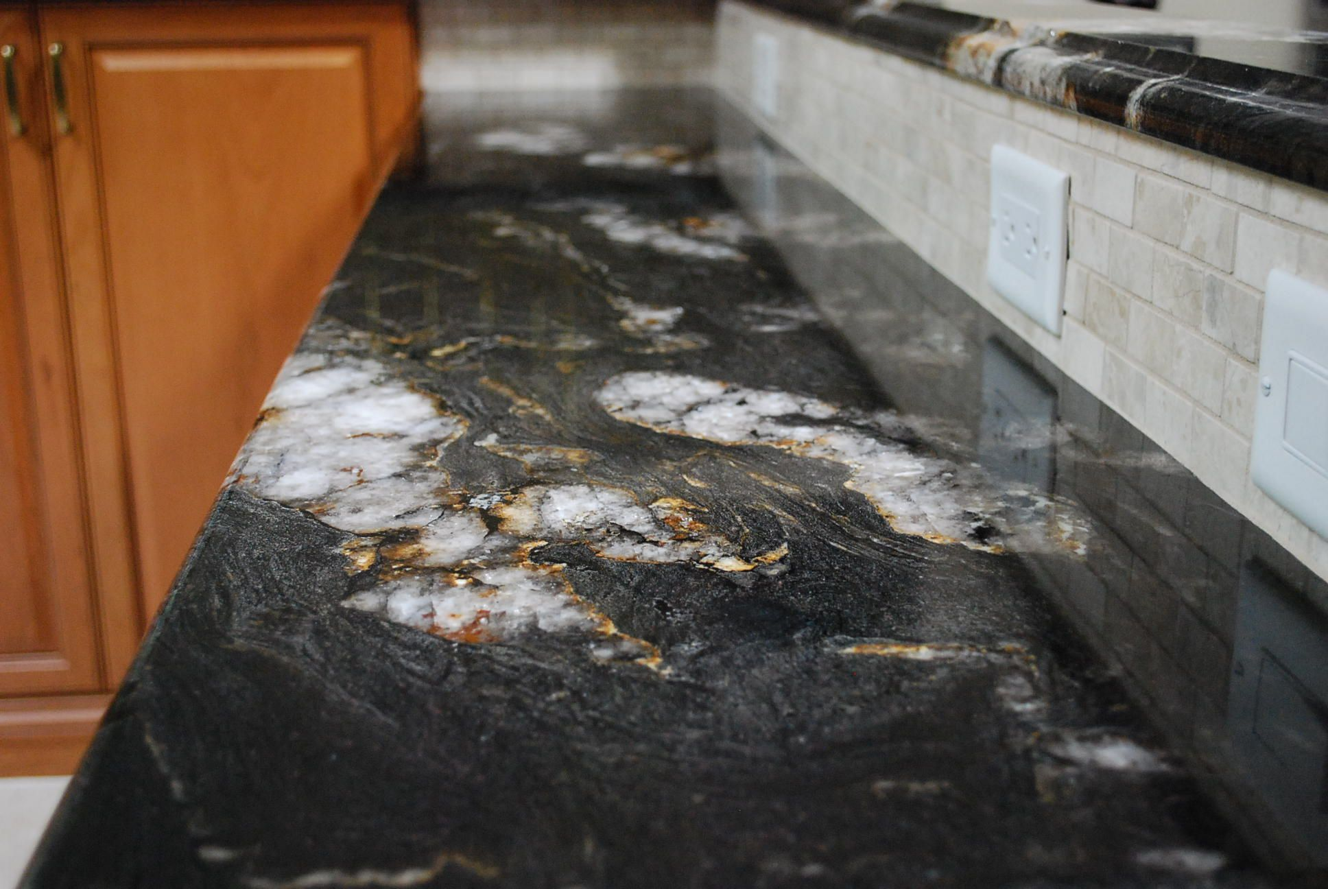 Image result for titanium granite countertops with white cabinets ...