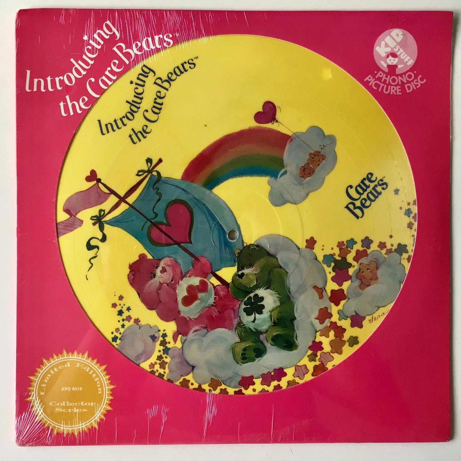 The Care Bears Introducing Limited Edition Sealed Picture Etsy Care Bears Movie Vinyl Record Album Care Bears