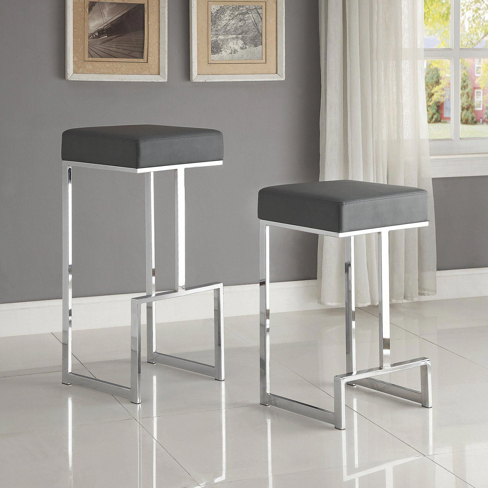 Coaster Furniture 25 In Backless Counter Height Stool From