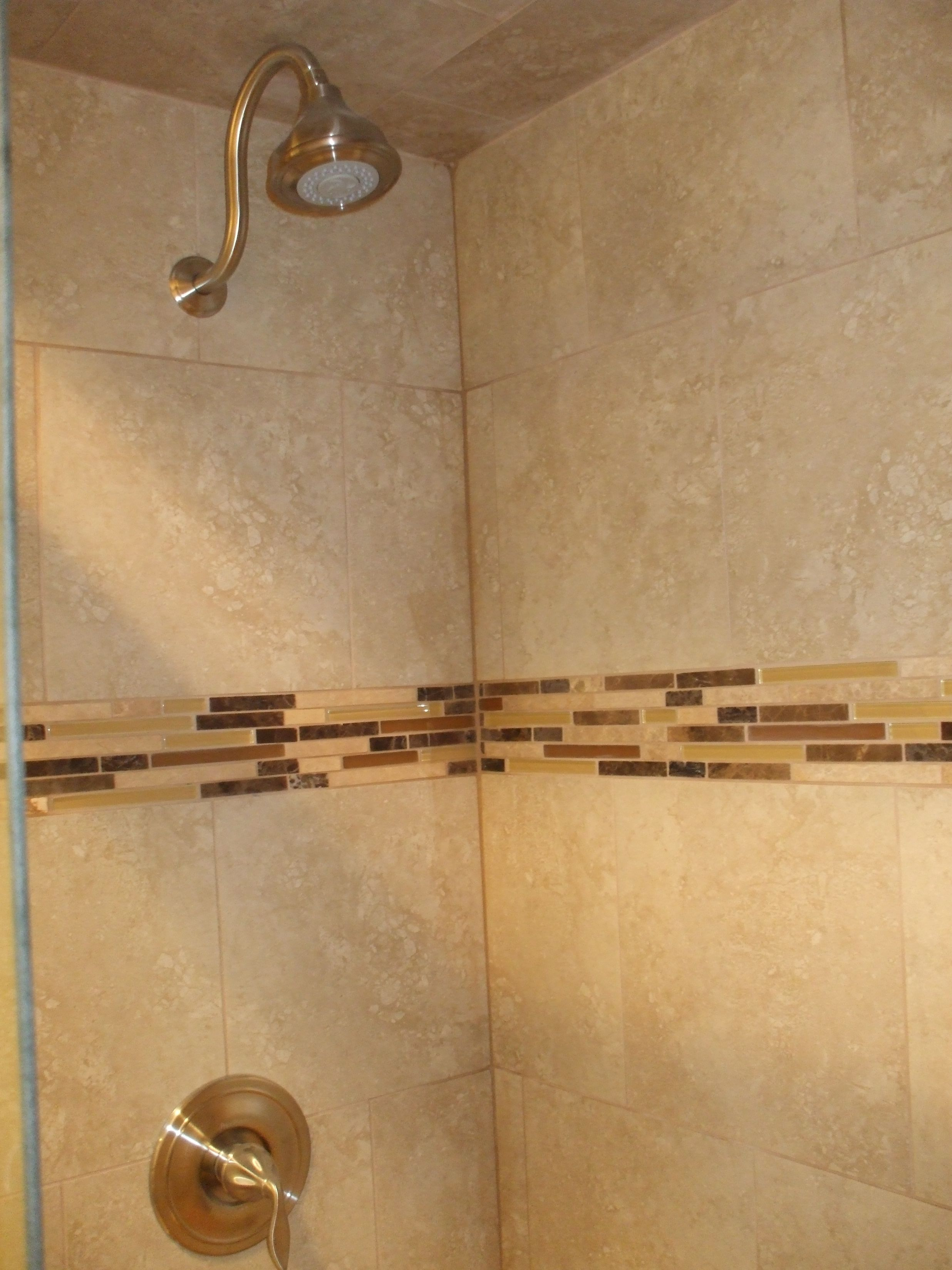 Custom Walk In ShowerCeramic Tile Custom Painting - Bathroom tile san antonio