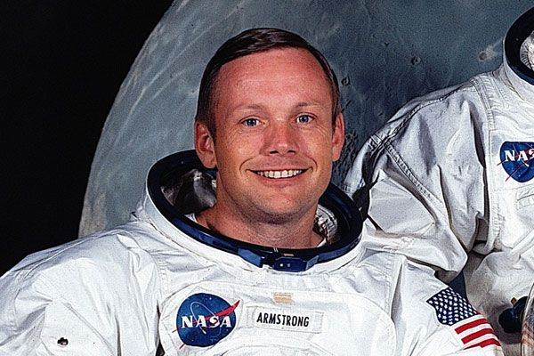 Foto del astronauta Neil Armstrong