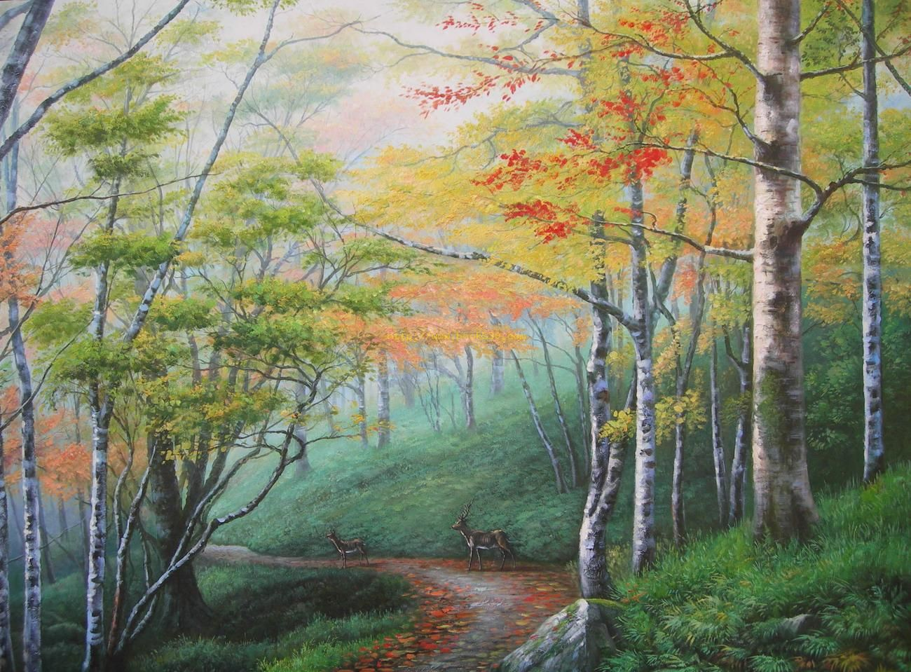 Classical Landscape Oil Painting 034 Paintings for Sale [CL034 ...