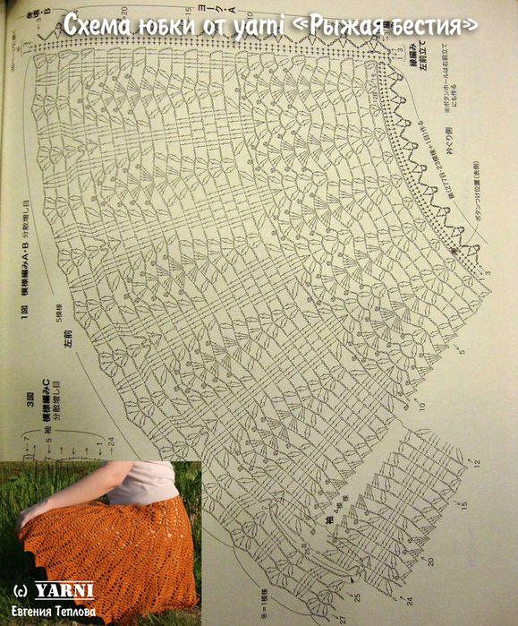 Crochet Diagram Skirt Electrical Drawing Wiring Diagram