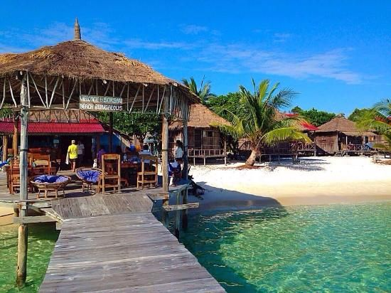 Book Sok San Beach Bungalows Koh Rong Cambodia 16 Night