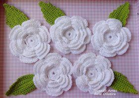 Tecendo Artes em Crochet: Um Jardim Finalizado e Enviado - Encomenda Concluída!