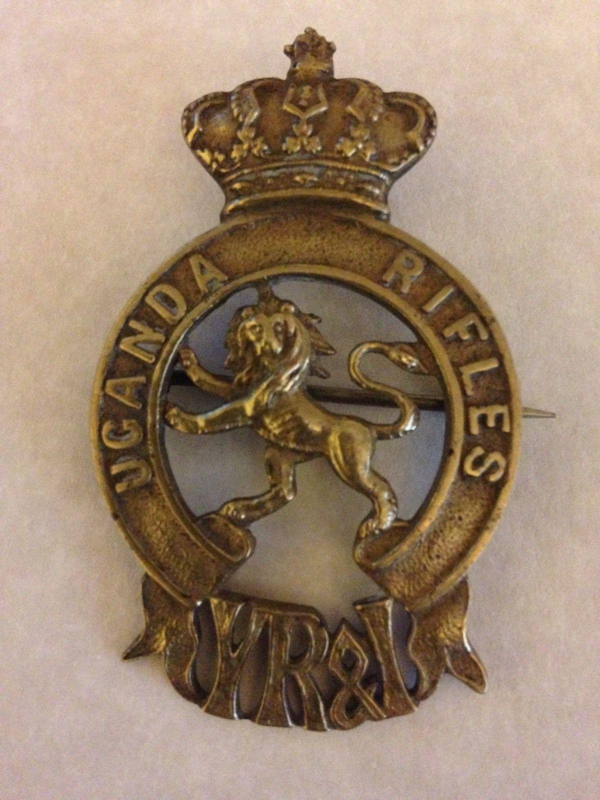 Uganda Rifles Cap Badge