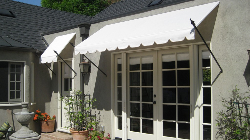fabric awning with scalloped trim - Google Search in 2020 ...