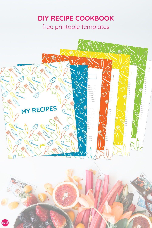 Recipe Binder Printables Recipe Binder Printables Binder Covers Printable Recipe Book Diy