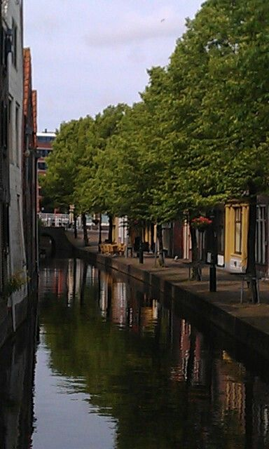 Gracht in Alkmaar