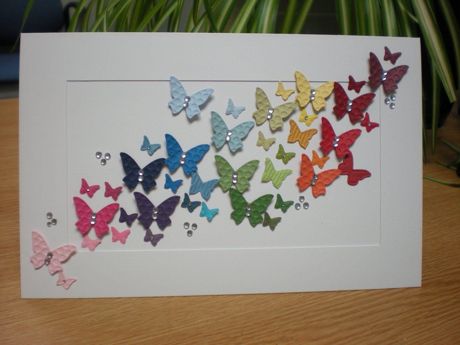 Открытка своими руками с бабочкой, данилу лет