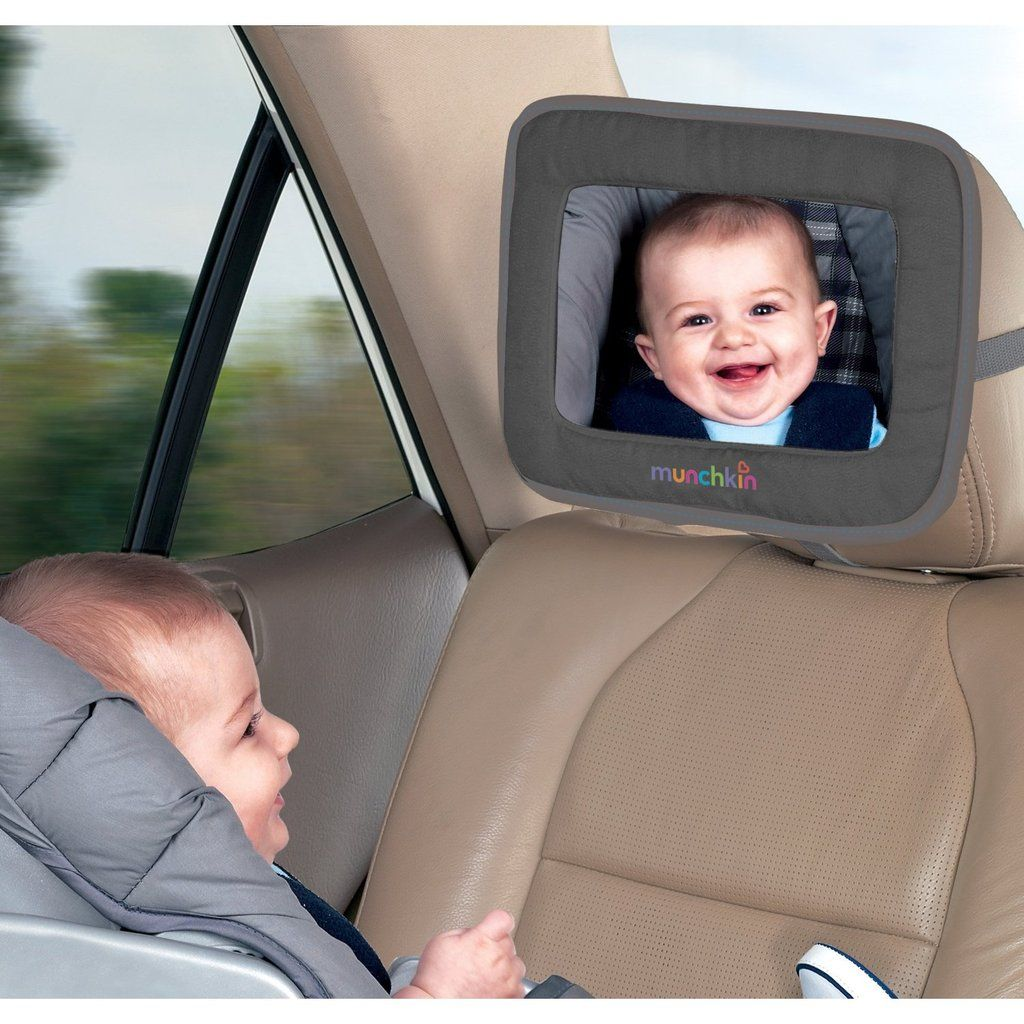 Munchkin Adjustable Back Seat Mirror - 100 Baby Products We Couldn\'t ...