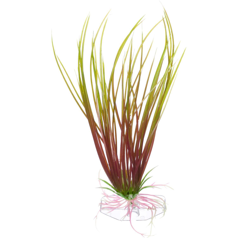 Petco Green & Red Hairgrass Foreground Plastic Aquarium