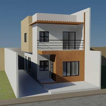 650 Koleksi Gambar Rumah Minimalis 2 Lantai Sangat Sederhana HD