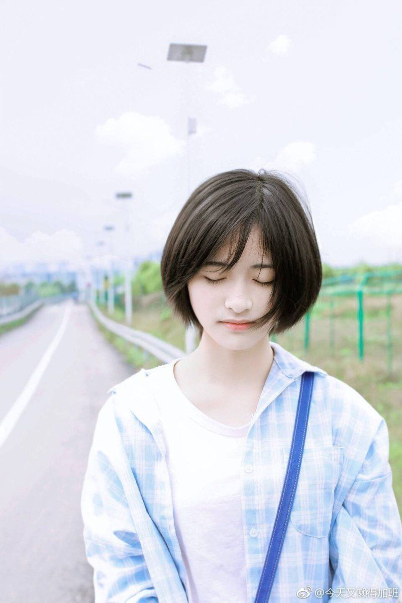15 Shen Yue Twitter Search Shot Hair Styles A Love So Beautiful Short Hair Styles