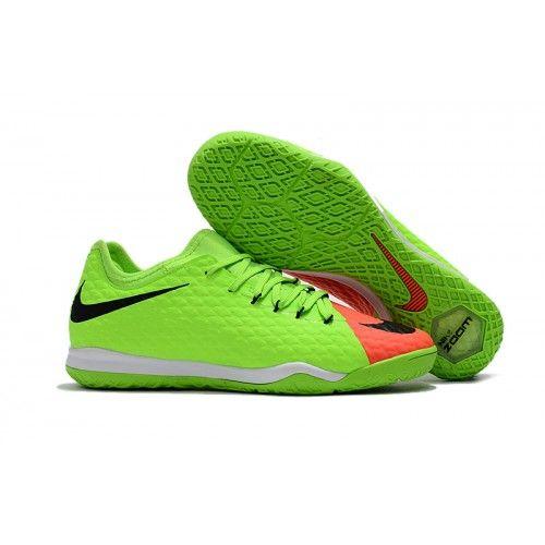 fca8566faee Nike Hypervenom - Chuteira De Futsal Nike HypervenomX Finale II IC Verdes  Vermelho