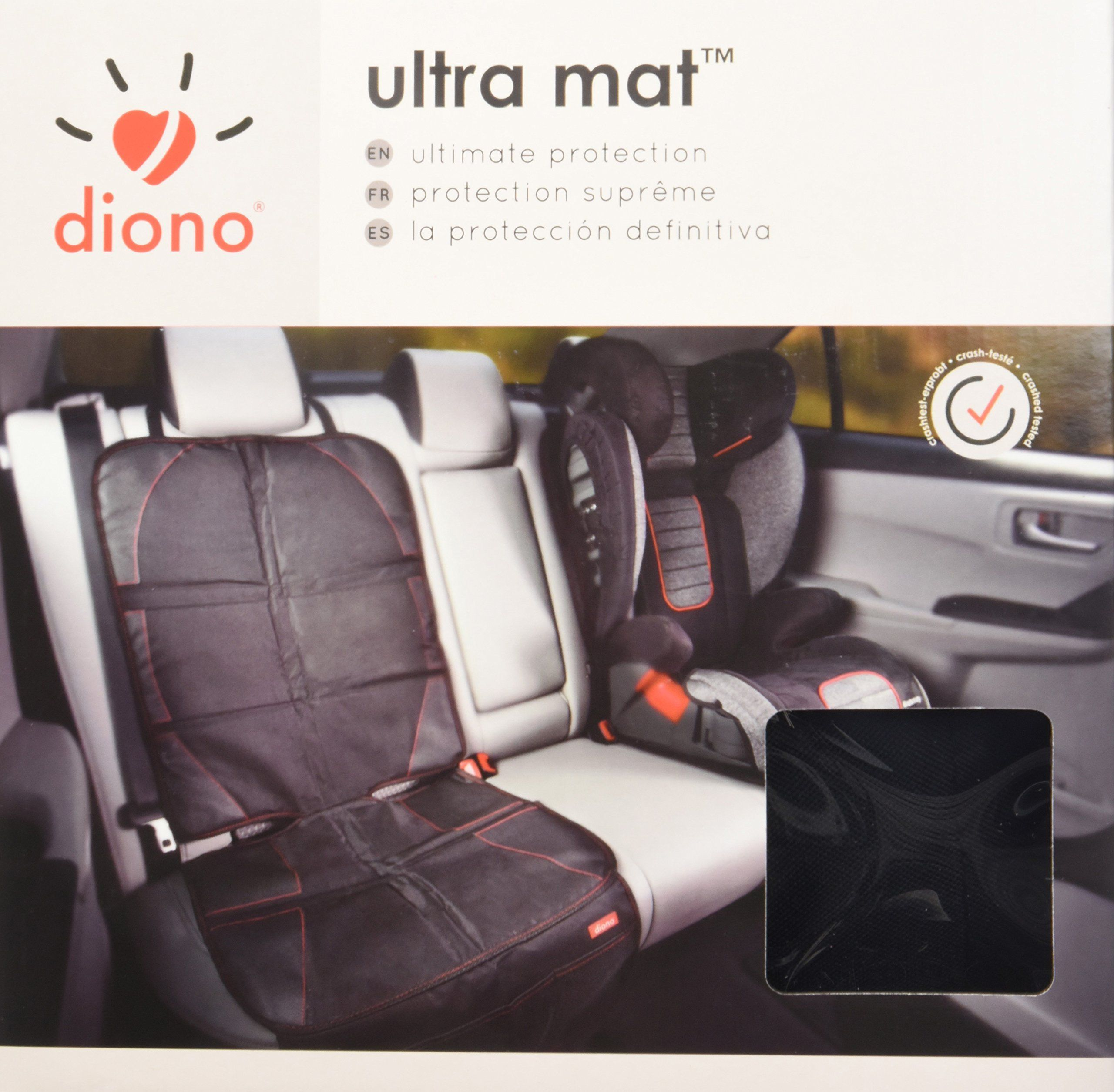 Diono Full Size Seat Univeral Protector Ultra Mat Protects Car Upholstery From Scratches Dents Wear And Tear Wa Car Seats Child Car Seat Car Seat Protector