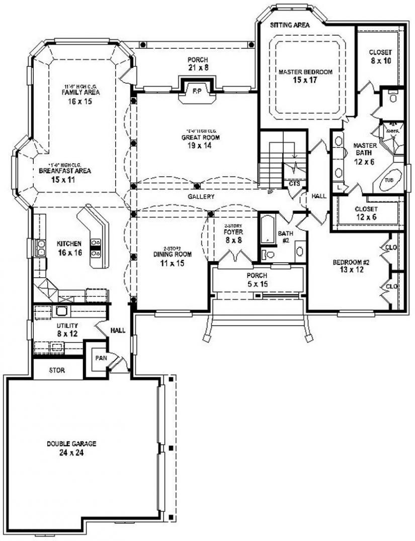 Pin By Carter Beauty Babe On A House Is Made Of Walls And Beams A Home Is Built With Love And Dreams Open Floor House Plans House Floor Plans Bedroom Floor