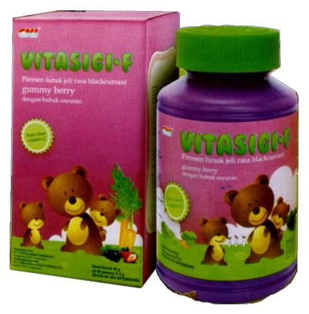 VitasigiF Gummy Berry menjadi jawaban untuk pemenuhan