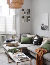 Photo of #salone per soggiorno in fattoria #piano bianco #capone #ea soggiorno #gray livi …
