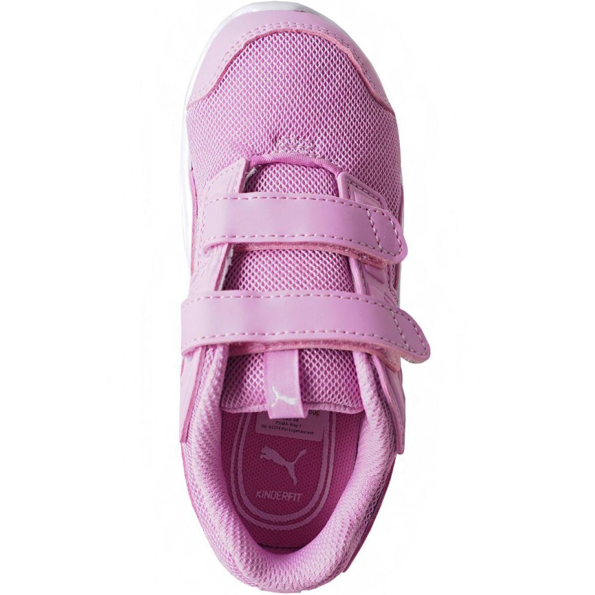 Buty Puma Escaper Mesh V Inf Jr 190327 09 Rozowe Kid Shoes Childrens Shoes Shoes