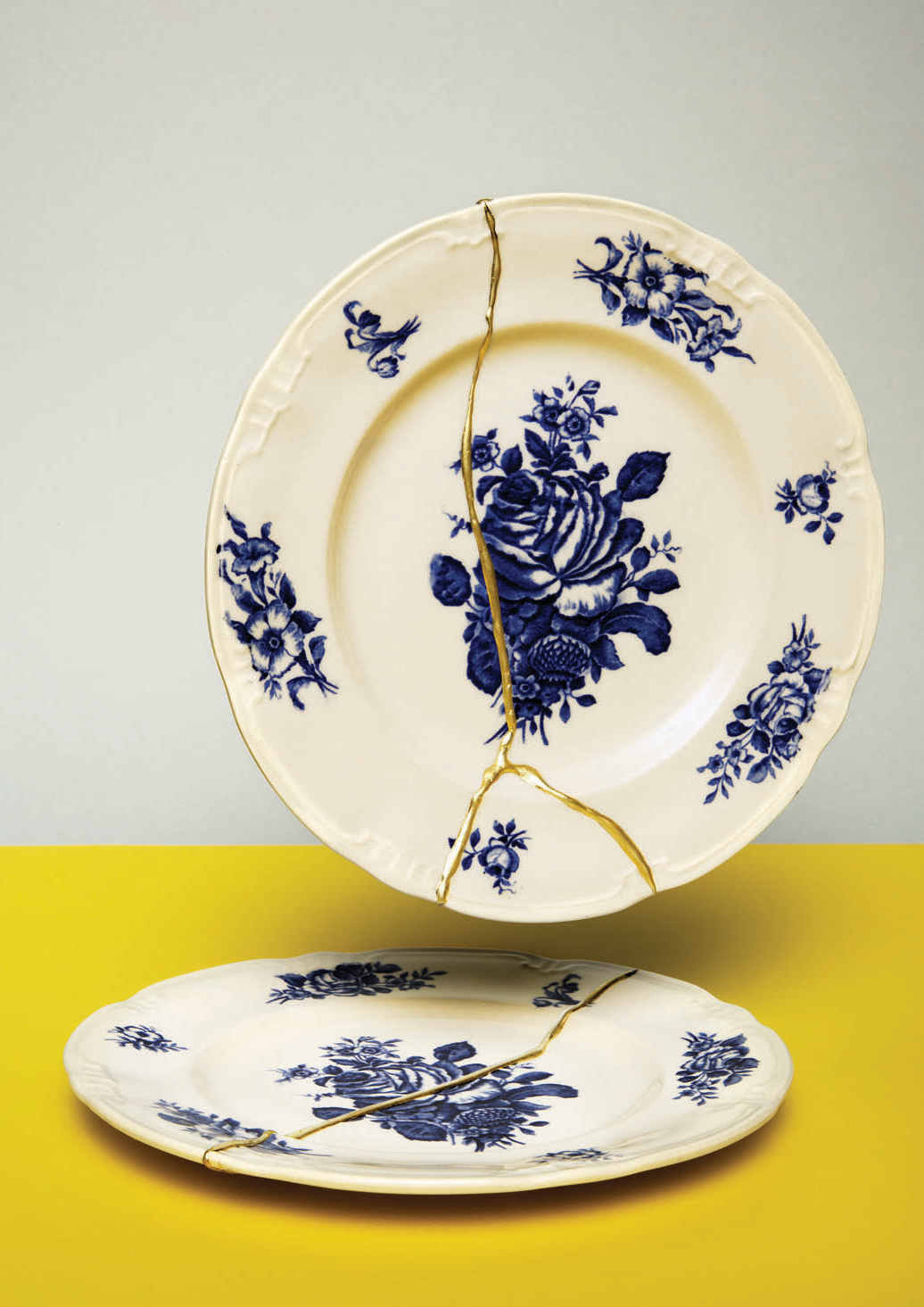 Kintsugi Bison Kintsugi Lotte Dekker Gluing Porcelain Based On Old